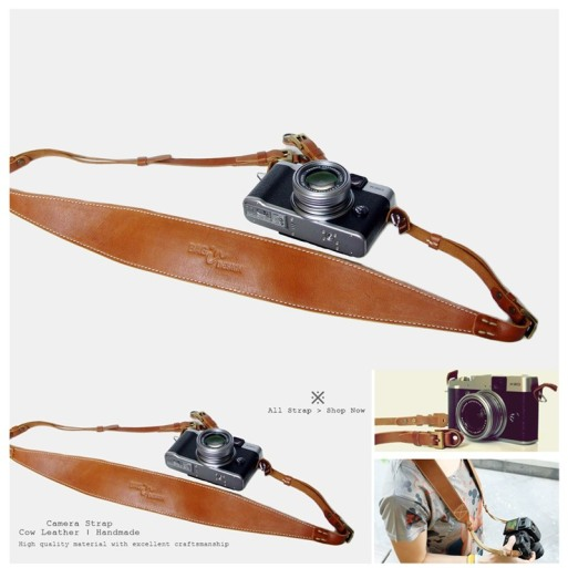 Camera strap-leather-curve-6