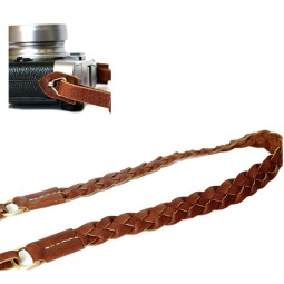 Camera strap-leather-weave-4